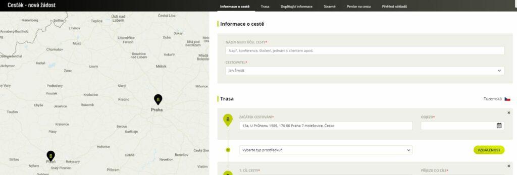 Nová aplikace zvládá cesťáky i vyúčtování výdajů bez zbytečného papírování