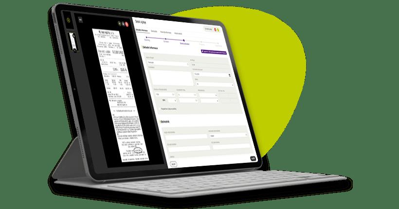 Vyúčtování služebky s Fidoo na dva kliky