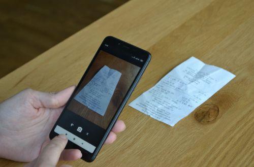 Workshop na digitalizaci účtenek