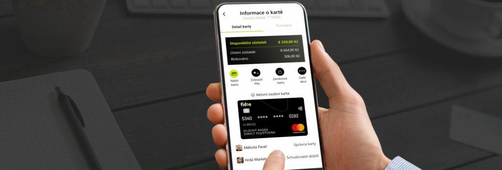 Novinky v mobilní aplikaci Fidoo