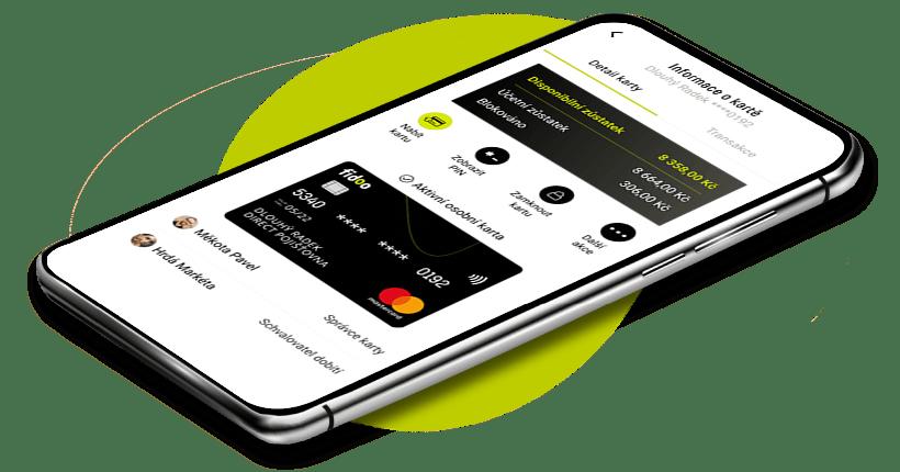 Mobilní aplikace Fidoo